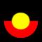 Aboriginal flag icon