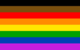 Flags rainbow bipoc